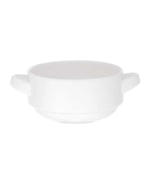 Soup Cup, 8-3/4 oz., stackable, premium porcelain, Universal