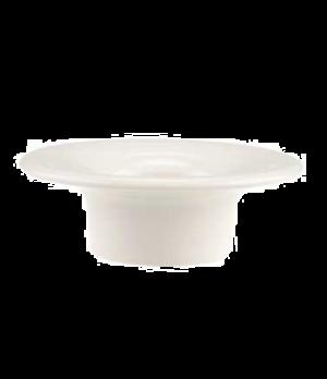 """Egg Cup/Butter Pad, 3-3/4"""", 1-3/4 oz., premium porcelain, Dune (DE Stock)"""
