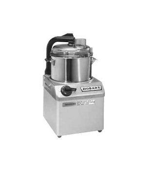 Food Processor, 4 qt. bowl design, 1725 rpm, stainless steel bowl with see-thru