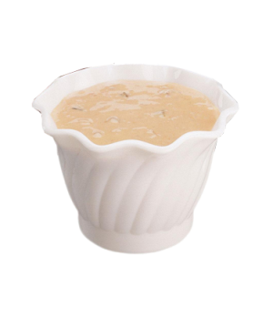 "Swirl Bowl®, serving, plastic, 5 oz., 3-17/32"" dia. max, Camwear® polycarbonate"