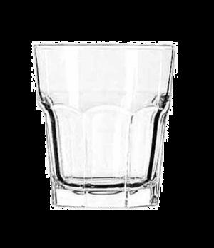 "Double Rocks Glass, 12 oz., DuraTuff®, GIBRALTAR®, (H 4""; T 3-5/8""; B 2-3/4""; D"