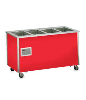 """Signature Server® with Stainless Steel Countertops, mobile hot food station, 74"""""""
