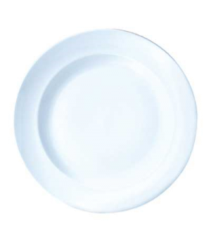 "Plate, 12-1/2"" dia., round, full border, Vogue (priced per case, packed 6 each p"