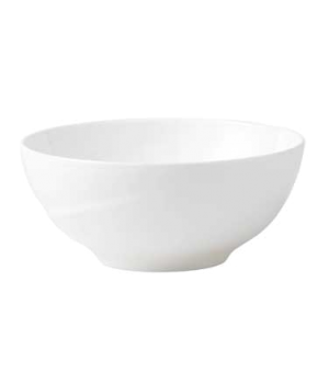 "Solar Salad Bowl, 10-1/2"" dia., round, dishwasher safe, bone china, white"