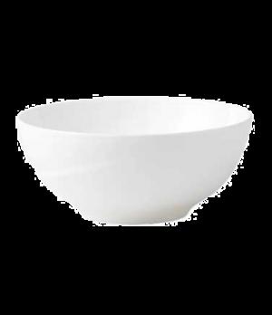"""Solar Salad Bowl, 8"""" dia., round, dishwasher safe, bone china, white"""