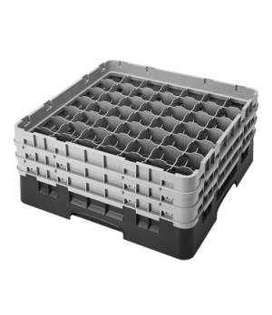"""Camrack® Glass Rack, with 2 extenders, full size, 49 compartments, 2-7/16"""" max."""