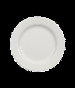 """Plate, 6-1/4"""", flat, premium porcelain, Perimeter"""