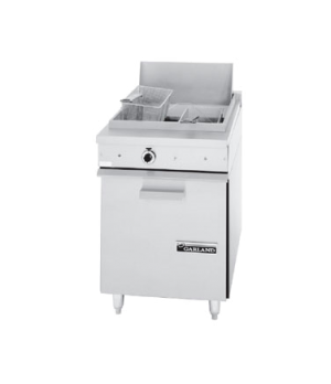 "36E Series Heavy Duty Fryer, electric, 24"" W, 70 lb. fat capacity, steel nickel"