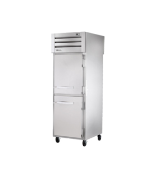 SPEC SERIES® Pass-thru Freezer, one-section, stainless steel front, aluminum sid