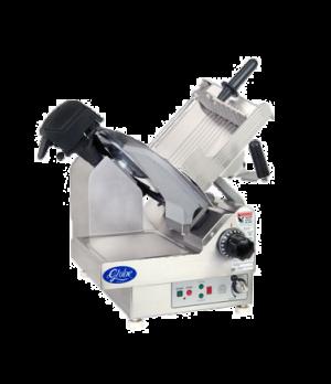 "Globe Premium Slicer, automatic, 2-speed, 40 and 60 strokes per minute, 13"" diam"