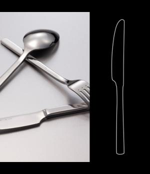 "Dessert Knife, 8-3/8"", heavy solid handle, 18/10 stainless steel, WNK, Silhouett"