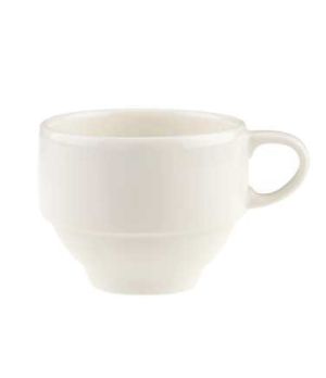 Cup #2, 7-1/2 oz., stackable, premium porcelain, Dune