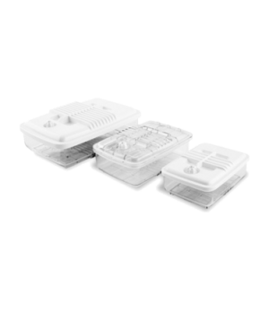"Orved Vuotobox Vacuum Packaging Machine Container, rectangular, 8""W x 5.6""D x 3"""