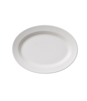 "Pickle Dish/Plate, 8-1/4"" x 6-3/4"", small, oval,  premium porcelain, Sedona Fuct"