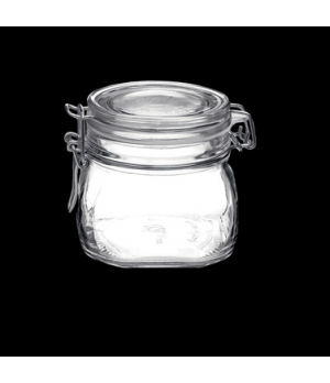 Jar, 19 oz., clear, Bormioli, Fido (USA stock item) (minimum = case quantity)