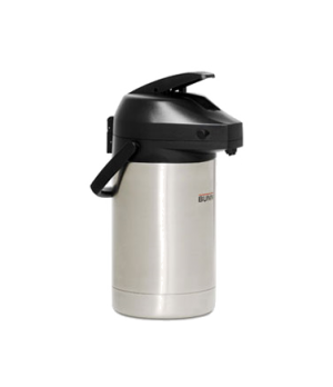 32125.0000 Airpot, 2.5 liter (84 oz.), lever-action, stainless steel liner, 1 pa