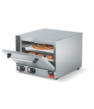 Pizza/Bake Oven, electric, stainless steel exterior & interior, supplied with tw