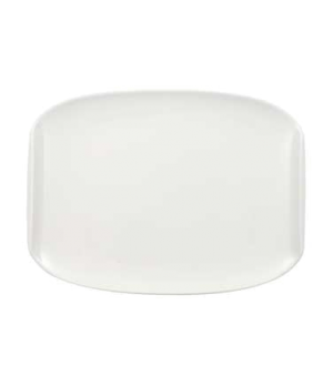"Plate, 10-5/8"" x 7-7/8"", coupe, premium porcelain, Urban Nature"