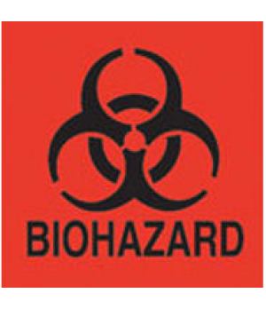 "Label, ""Bio Hazard"""