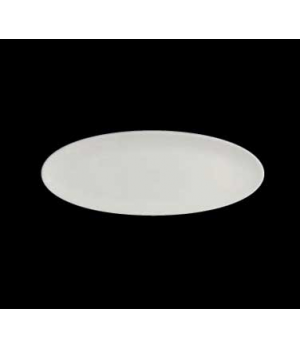 "Tray, 14"" x 6"", oval, coupe, porcelain, Varick Alpha-Ceram (USA stock item) (min"