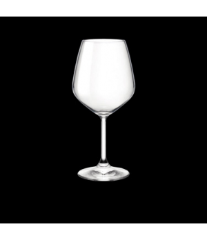 Red Wine Glass, 18 oz., crystal, non-lead, laser cut, Bormioli, Restaurant (USA