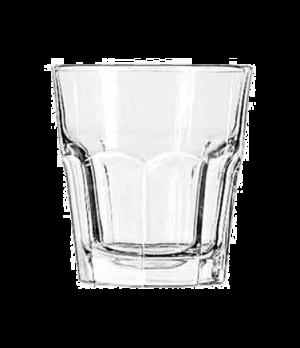 """Rocks Glass, 9 oz., DuraTuff®, GIBRALTAR®, (H 3-5/8""""; T 3-3/8""""; B 2-1/2""""; D 3-3/"""
