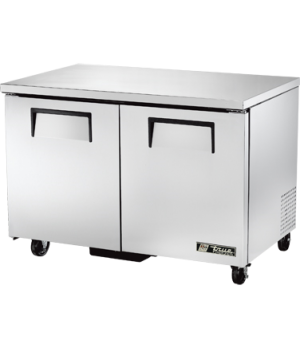 Undercounter Freezer, -10° F, (4) shelves, stainless steel top & sides, white al