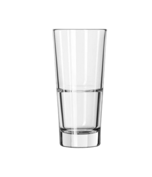 "Beverage Glass, 12 oz., DuraTuff®, ENDEAVOR™, (H 6-1/4""; T 3""; B 2-1/4""; D 3"")"