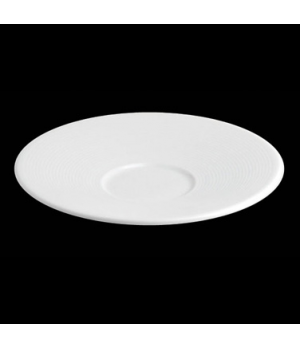 "Saucer, 6"" dia., for MP22/MP23 coffee cups, porcelain, Tria, Wish (minimum = cas"