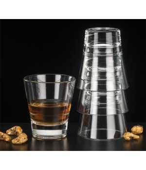 "Rocks Glass, 5 oz., DuraTuff®, Endeavor™ (H 3-1/4""; T 3""; B 1-7/8""; D 3"")"