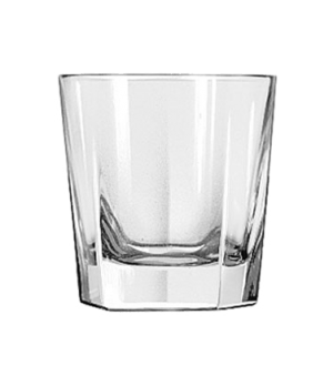"Rocks Glass, 7 oz., DuraTuff®, INVERNESS, (H 3-1/4""; T 3-1/8""; B 2-7/8""; D 3-1/8"
