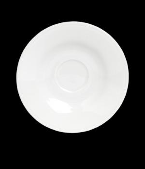 "AD Saucer, 5"" dia., round, porcelain, Rene Ozorio Concerto (USA stock item) (min"