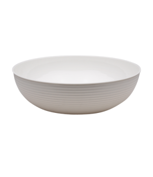 "Camwear® Bowl, ribbed, round, 8"" dia., 1.65 qt. capacity, polycarbonate, dishwas"