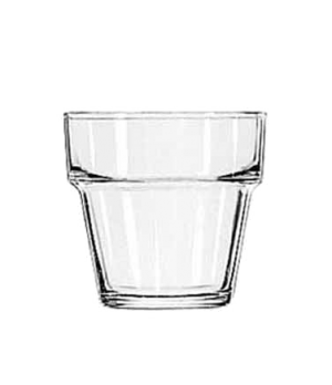 "Votive Pot, 4-1/4 oz., glass, (H 2-5/8""; T 2-3/4""; B 1-3/4""; D 2-3/4"")"
