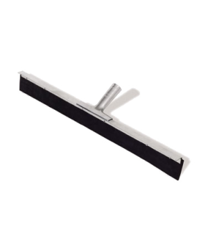 "Traditional Floor Squeegee, straight, 18"", galvanized metal frame and locking st"