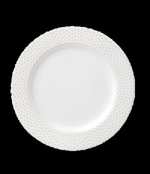 """Plate, 8-1/4"""" (21cm), flat, salamander/microwave/dishwasher safe, premium porcel"""