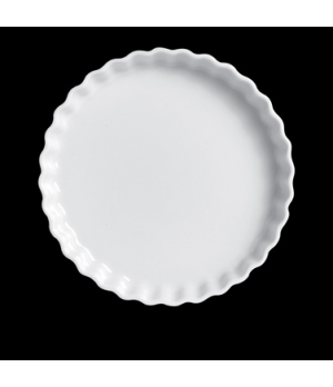 "Flan Dish N°6, 8-3/4"" dia., round, 280321BL, porcelain, Pillivuyt, General Colle"