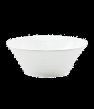 "(6683) Fusion All Purpose Bowl, 6-1/4"" dia. (15.9 cm), embossed, bone china, mic"