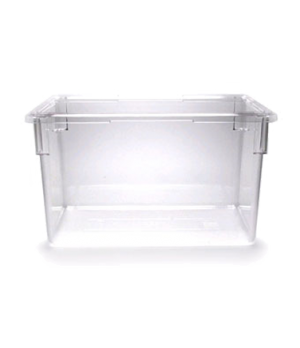 "Camwear® Food Storage Container, 18"" x 26"" x 15"", 22 gallon capacity, clear, pol"