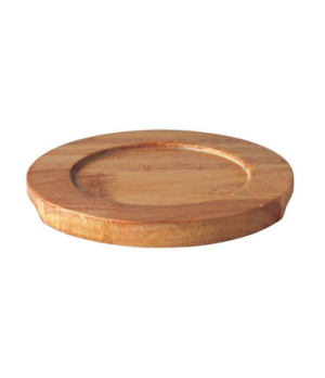 "Board, 7-1/2"" dia. (19 cm), round, for CI MH1402-06, Oven to Table, wood"