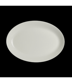 "Platter, 14-1/4"", oval, vitrified china, Performance, Taste (priced per case, pa"