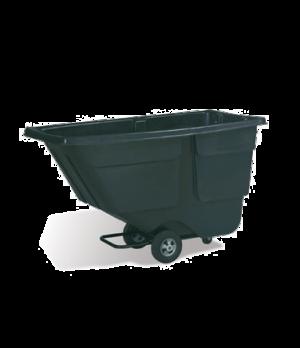 Tilt Truck, standard duty, 600 lb. capacity, 1 cu. yard, black