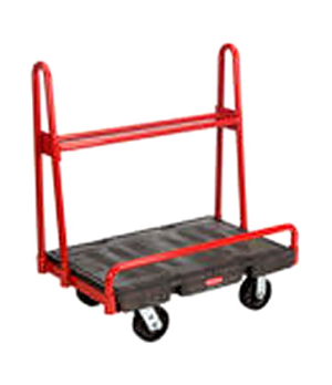 "A-Frame Panel Truck, 24"" x 36"", 2000 lb capacity, single, 32"" high side inclined"