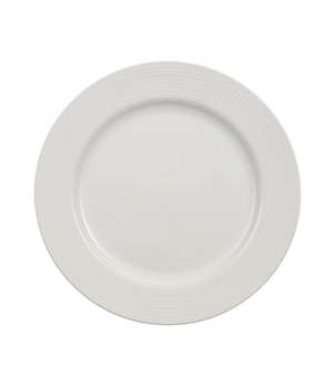 "Plate, 11-3/8"" x 7-1/8"" well, premium porcelain, Marchesi-Perimeter"
