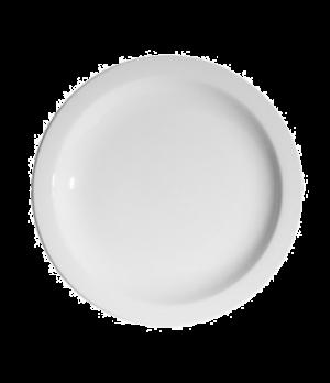 "Blanco Plate, 10-3/4"" (27 cm), round, narrow rim, scratch resistant, oven & micr"