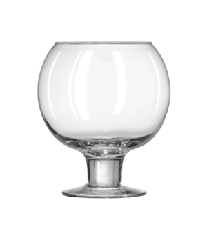 "Super Globe Glass, 51 oz., Safedge® Rim and foot guarantee, (H 7-1/8""; T 4-1/2"";"