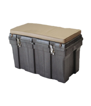 "Tack Box, 24""H x 36""L x 24""W, structural foam construction, black"