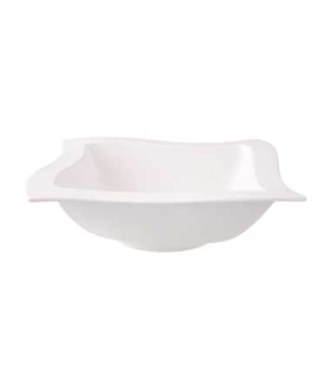 "Salad Bowl, 9-7/8"" x 9-7/8"", 57 oz., premium porcelain, New Wave"
