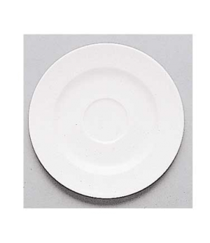 "Saucer, 6-7/8"", (cup OCR's -1210), premium porcelain, Easy White"