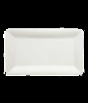 "Platter, 12-5/8"" x 7-1/2"", rectangular, premium porcelain, Pi Carre"